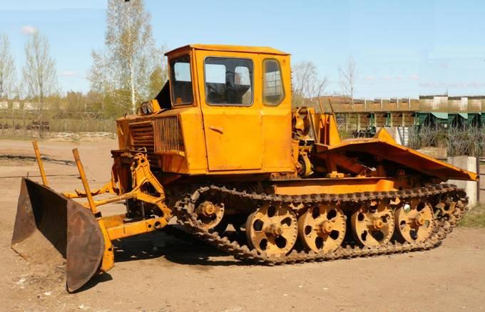 фото трактор тдт-55